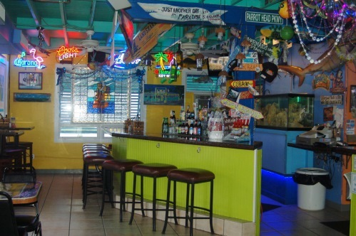 Bobalus Big Coppitt Key Restaurant Bar Area